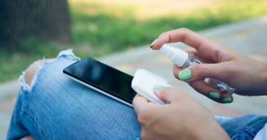 coronavirus nettoyer son smartphone